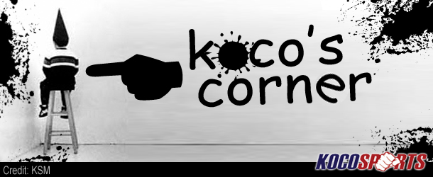 Column: Kocos Corner #12  (The Three Combat Sports Stars of the Week of 8/12 to 8/18 2012)