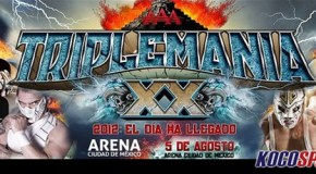 "AAA TripleManía XX results – 08/05/12 – (Dr. Wagner, Jr. wins ""Mask vs. Mask""; Kurt Angle in Mexico!)"