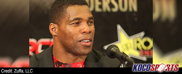 NFL player turned MMA fighter, Herschel Walker, comments on the competition difference