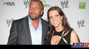 Triple H and Stephanie McMahon arrive in Las Vegas for Floyd Mayweather fight