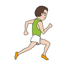 走るフォーム