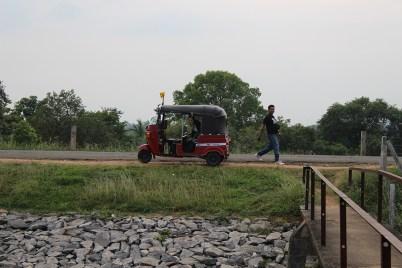 Ons vervoer voor de trip: de tuktuk!
