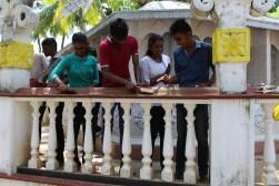 Dit jaar werd er een lokale tempel opgeknapt