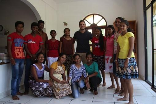 Met mijn studenten :-)