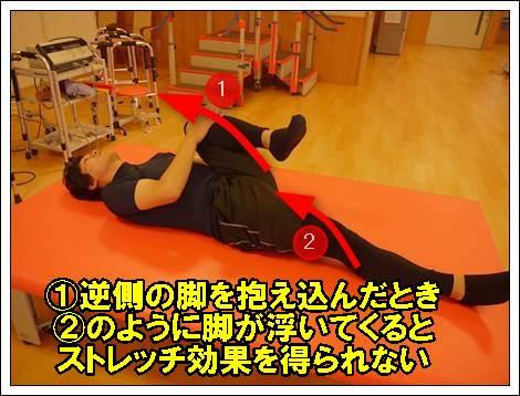 腸腰筋のストレッチ7