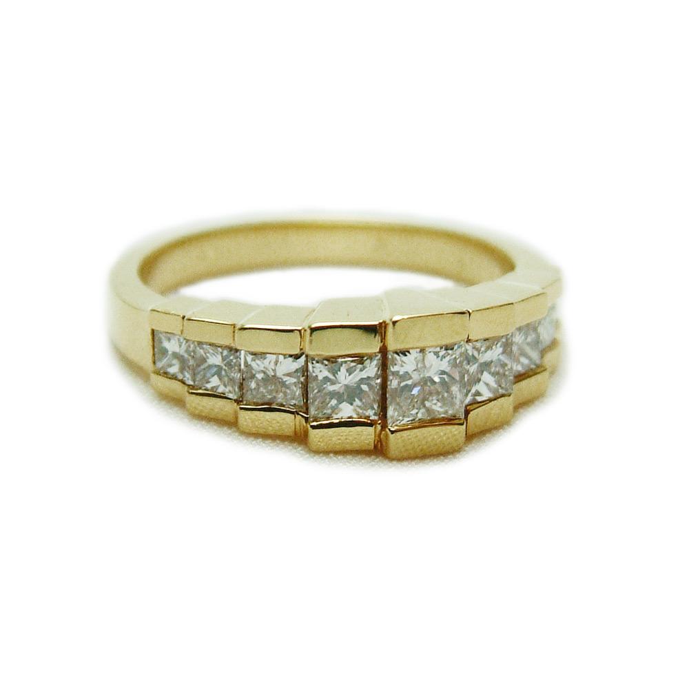 Fullsize Of Princess Cut Diamond Rings