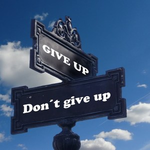 負けてもやめなければいい。