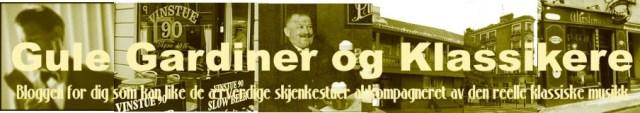Blogbanner Gule Gardiner