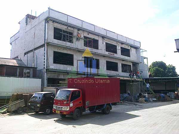 Pekerjaan Bangunan Kantor 4 lantai di Jakarta