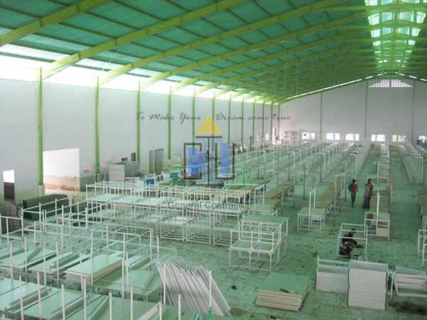 Pekerjaan Finishing Pabrik Garmen di Sukabumi