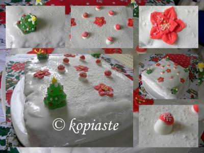 Collage Christmas Cake 2009 2