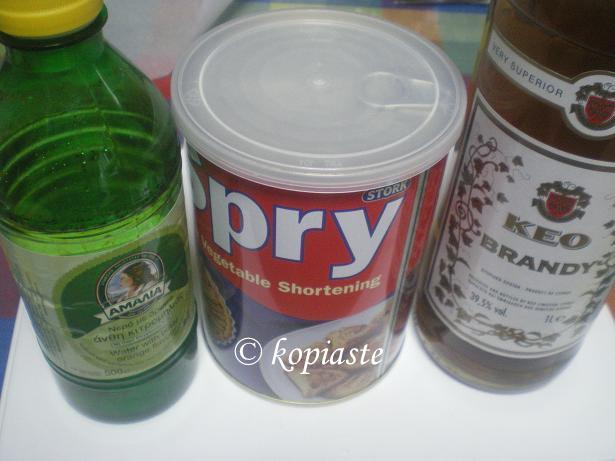 spry, brandy and orange blossom water
