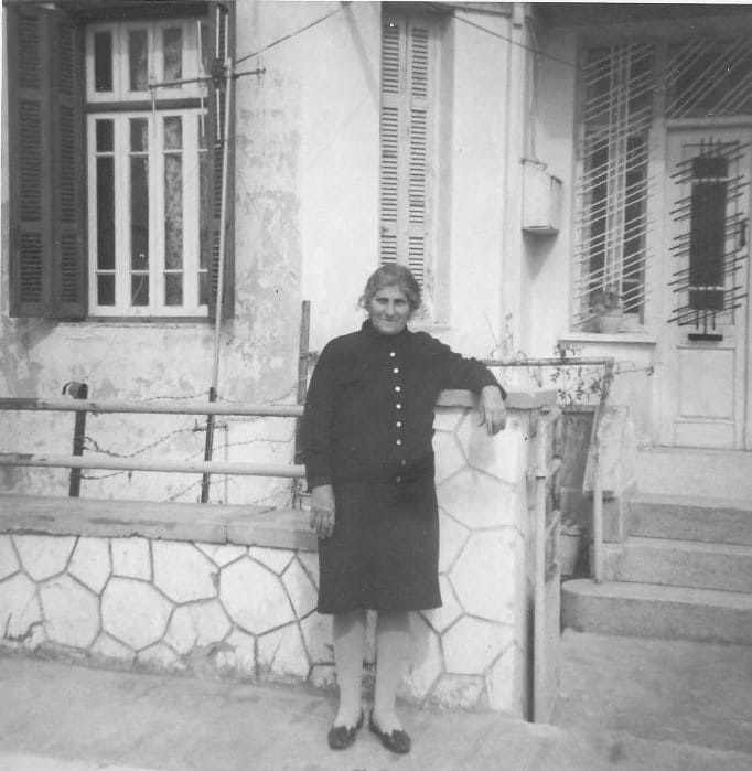 Mom at Lykourgou
