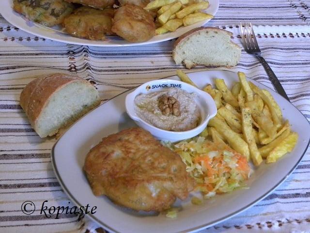 Bakaliaros (cod fillet)