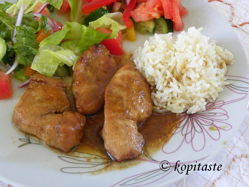 Orange Teriyaki Chicken