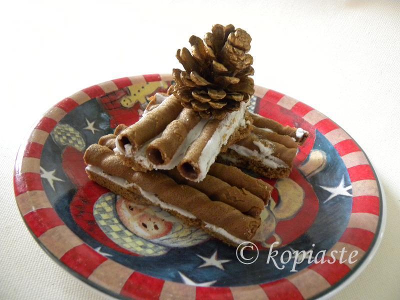Gingerbread Cigar Cookies 1