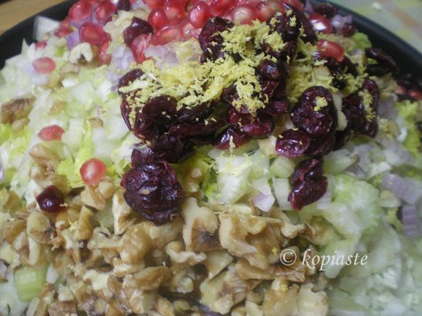 Lahanosalata Cabbage salad