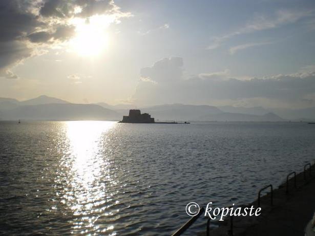 Sunset at Nafplion