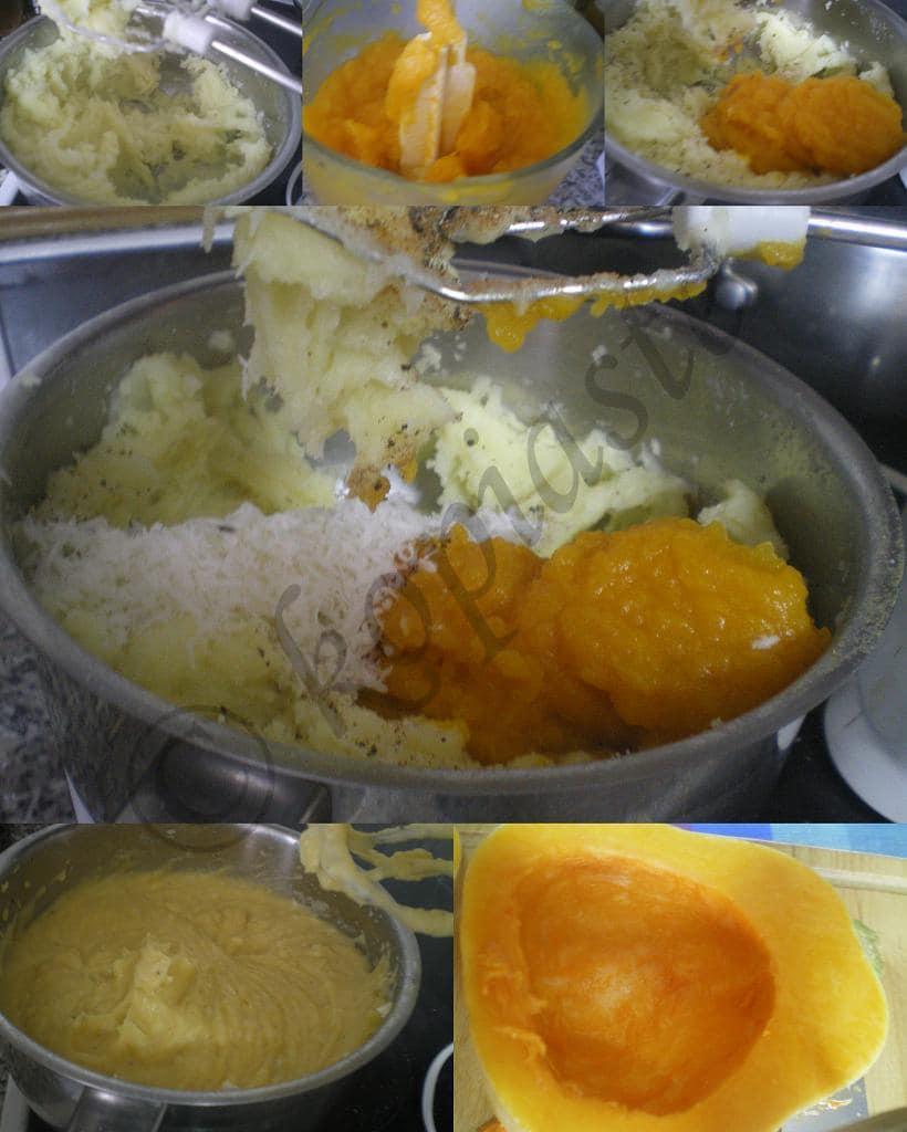 Collage Pumpkin Puree marked