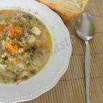 Why is chicken soup good when you have a cold?