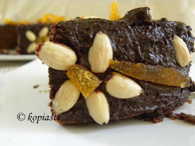 Almond Chocolate Cake 3