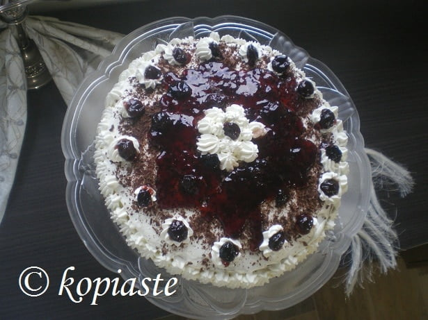 Cream Cheese Black Forest