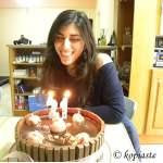 Marshmallows Bergamot Birthday Cake