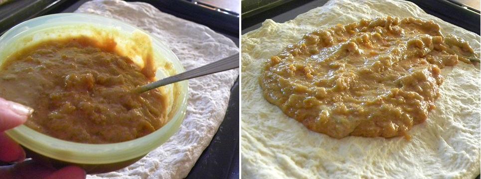 CollageTahini and Mandarin Bread