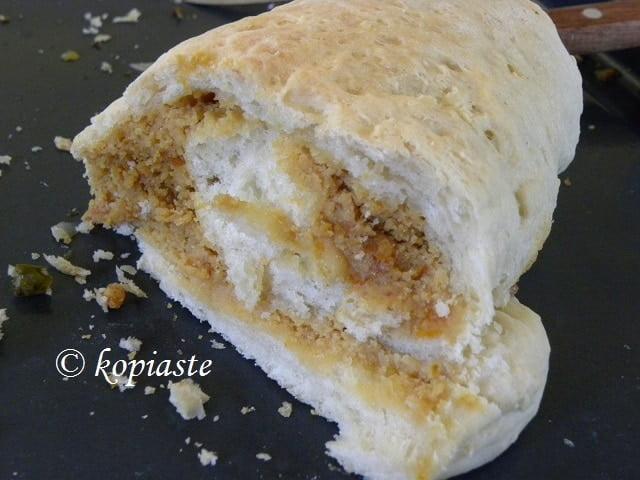 Tahini and Mandarin Bread