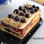 Cherry Compote Torte