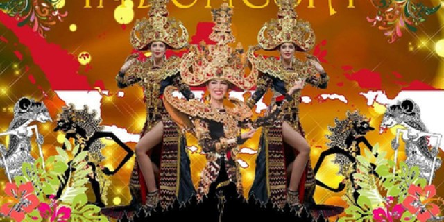 Indonesia Menang Best National Costume Miss Grand International