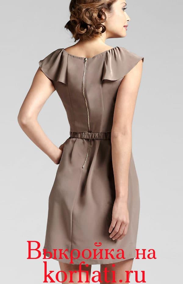 Платья 2015, выкройки