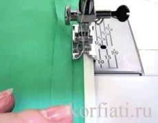 Обработка припусков косо бейкой