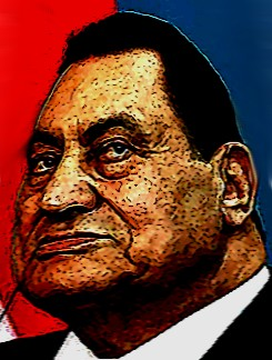 Hosni mubarak karikatur cartoon Mubarak ist am Ende!
