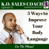 5 Ways to Improve Your Body Language