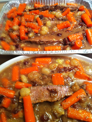 Sweet & Pungent Pot Roast