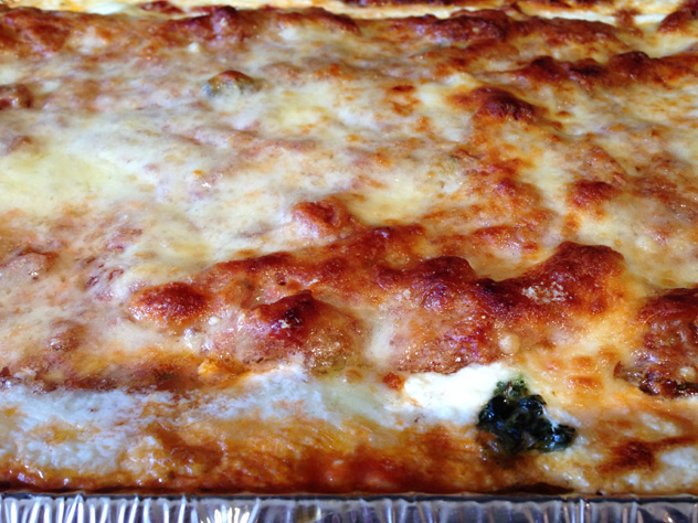 spinach-and-chees-lasagne