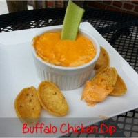 Easy Buffalo Chicken Dip (no crock pot needed!)