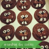 Groundhog Day Cookies!