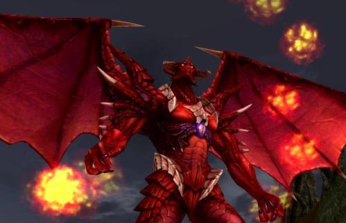 MMORPG mit Feuer im Arsch