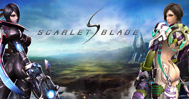 Sci-Fi MMORPG Scarlet Blade - Mavericks & Protectors