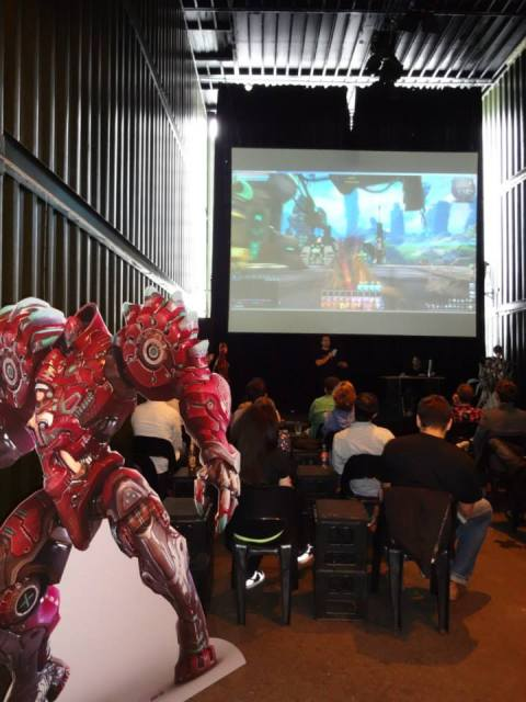 Fantasy MMORPG Scarlet Blade Arkaner als Mesh