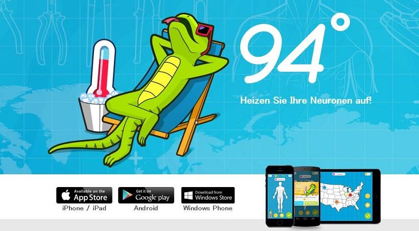 94 Grad ist ein außergewöhnliches Wissensspiel