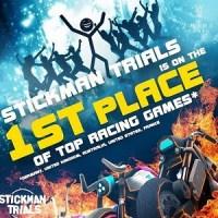 Stickman Trials ist ideal für Stuntmänner