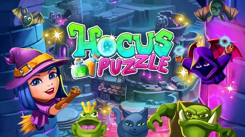 Besiegt böse Mächte in diesem zauberhaften Puzzle