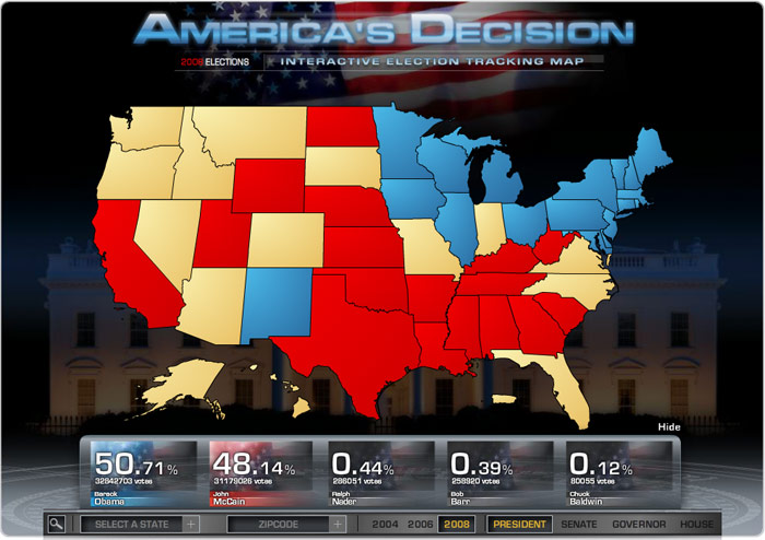 2008 Election Maps Fox News