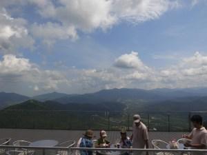 雲海テラスからの眺望