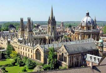 Here is the University of Oxford