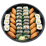 Sukeroku Plate (36pcs) - Futomaki 24pcs & Inari 12pcs