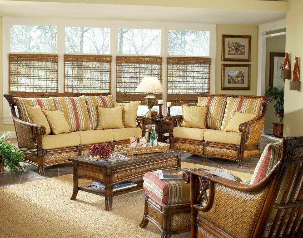 pacificia wicker u0026 rattan furniture for sunroom o